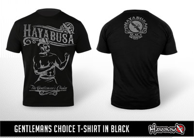 Gentlemans choice t-shirt in black