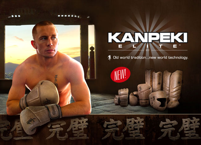 Georges St. Pierre Endorses Hayabusa Kanpeki Elite Series 2.0