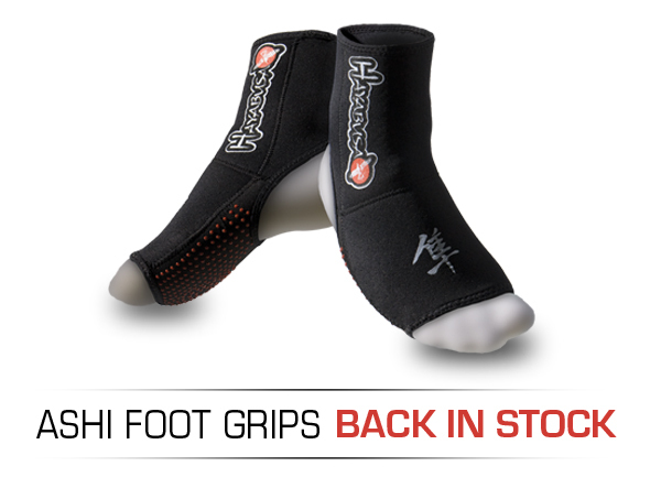 Hayabusa Ashi Foot Grips Back in Stock