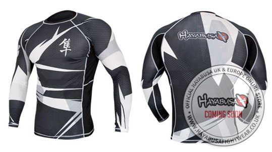 Hayabusa Long Sleeve Metaru Rashguard