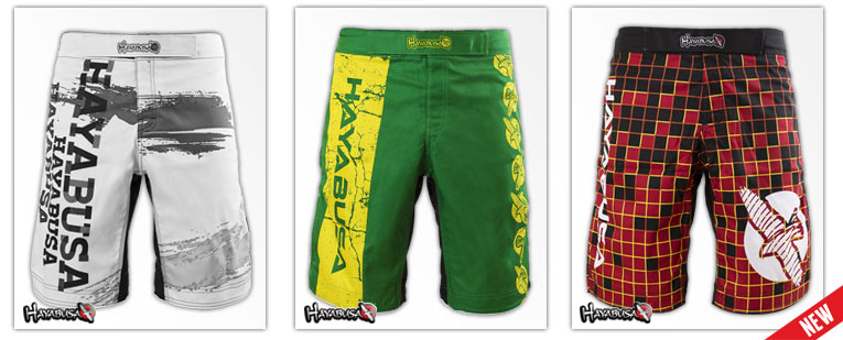 New Hayabusa Fight Shorts Now Available