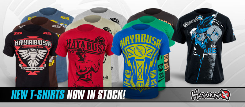 New Hayabusa T-Shirts Now In Stock