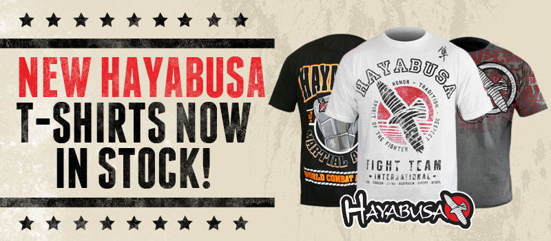 New Hayabusa T-Shirts Now In Stock!