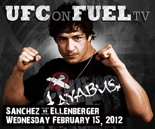 UFC on Fuel TV SANCHEZ VS ELLENBERGER