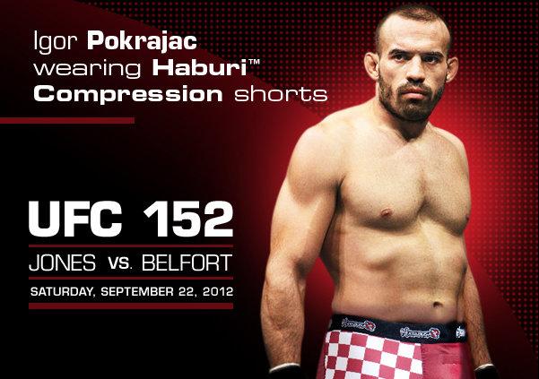 UFC 152 Hayabusa Sponsored Fighters