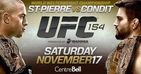 UFC 154 Preview Video
