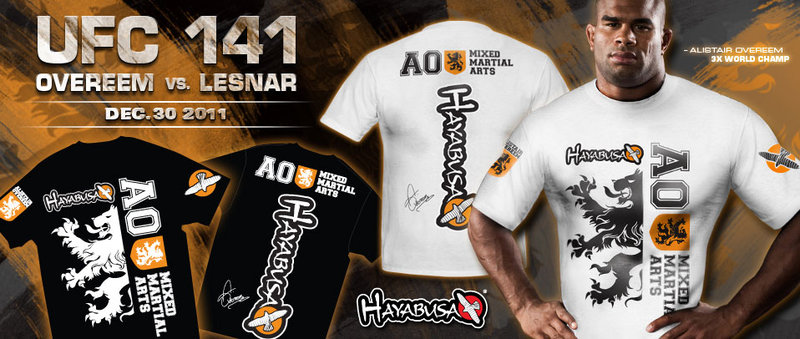 Limited Edition Overeem Signature T-Shirts & Fight Shorts