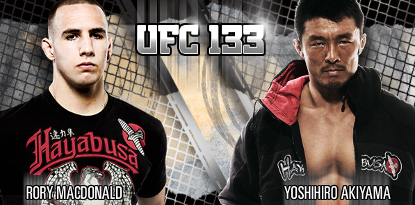 UFC 133 Hayabusa Sponsored Fighters