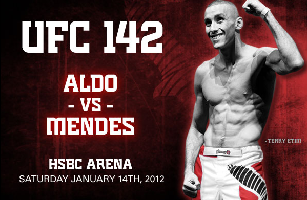 UFC 142 Preview - Hayabusa Sponsored Fighters