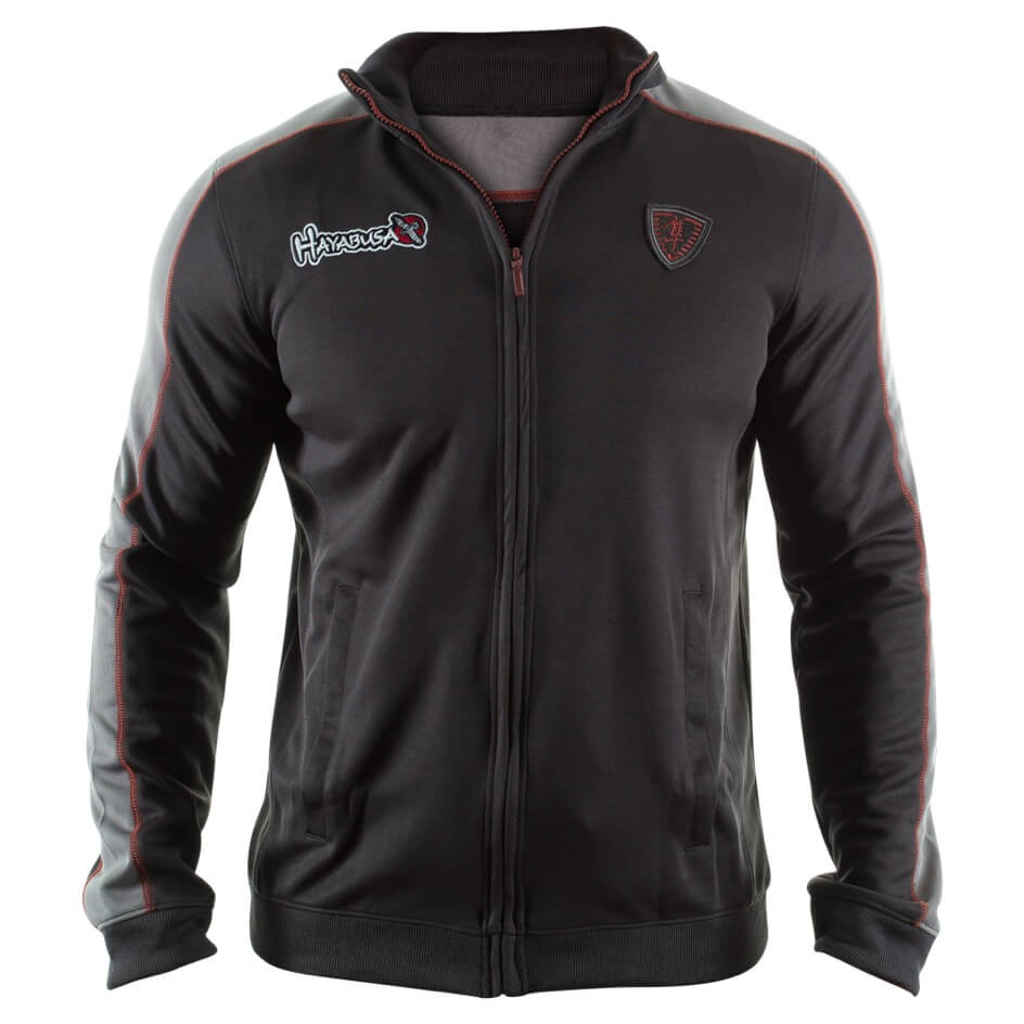 Hayabusa Track Jacket Black / Grey