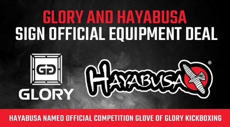 Hayabusa named Official Glory Sponsor