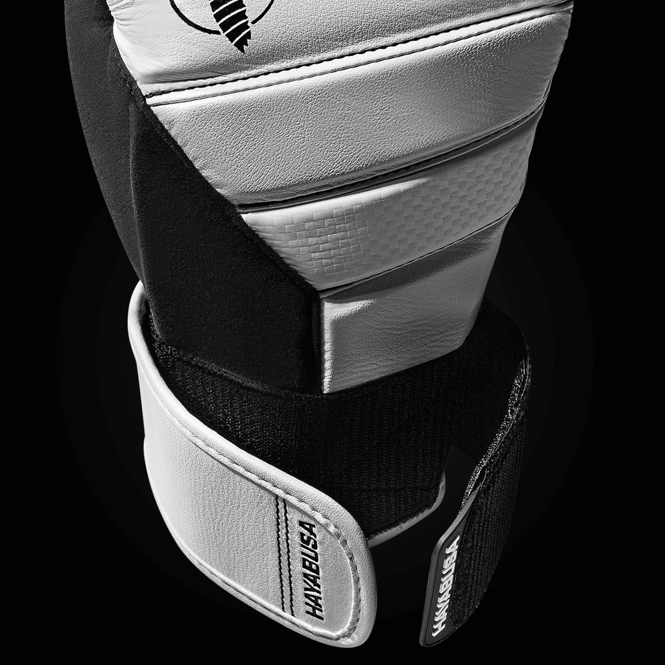 DUAL-X closure system on the White T3 Gloves