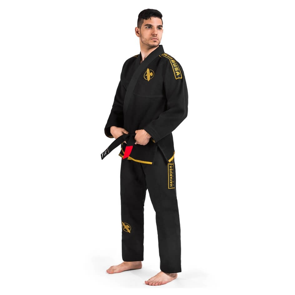 new lightweight gi in black and gold