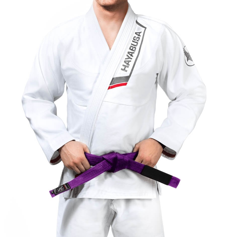 Hayabusa's Different BJJ Gi's in white