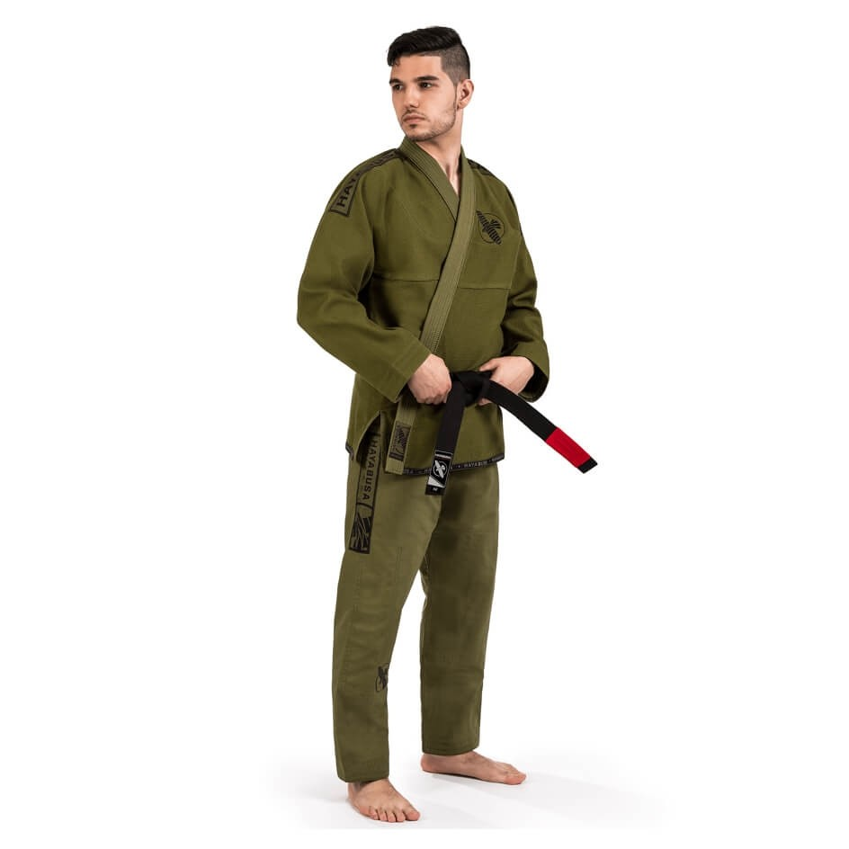 Lightweight Jiu Jitsu Gi in green