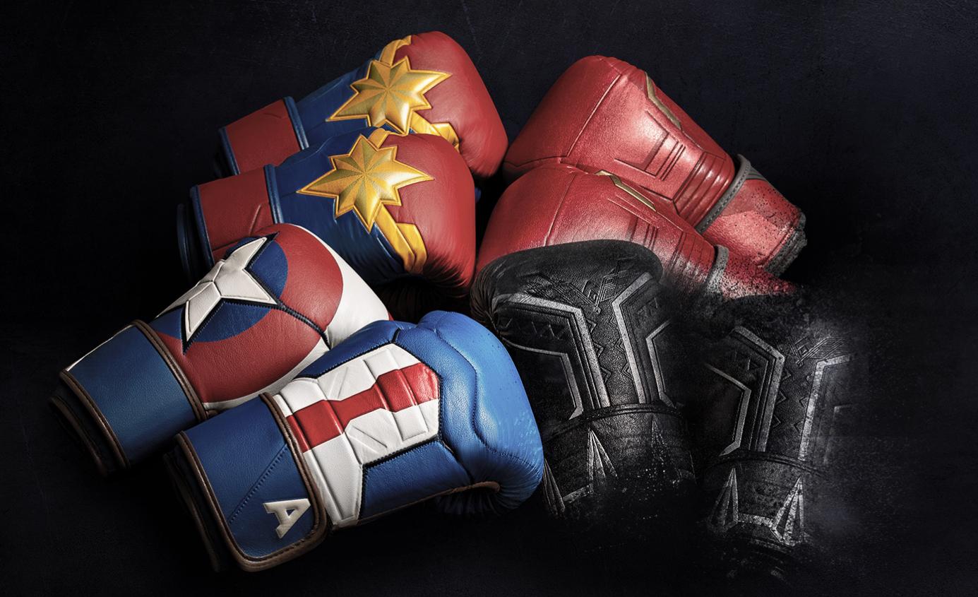Brand New Marvel Boxing Gloves