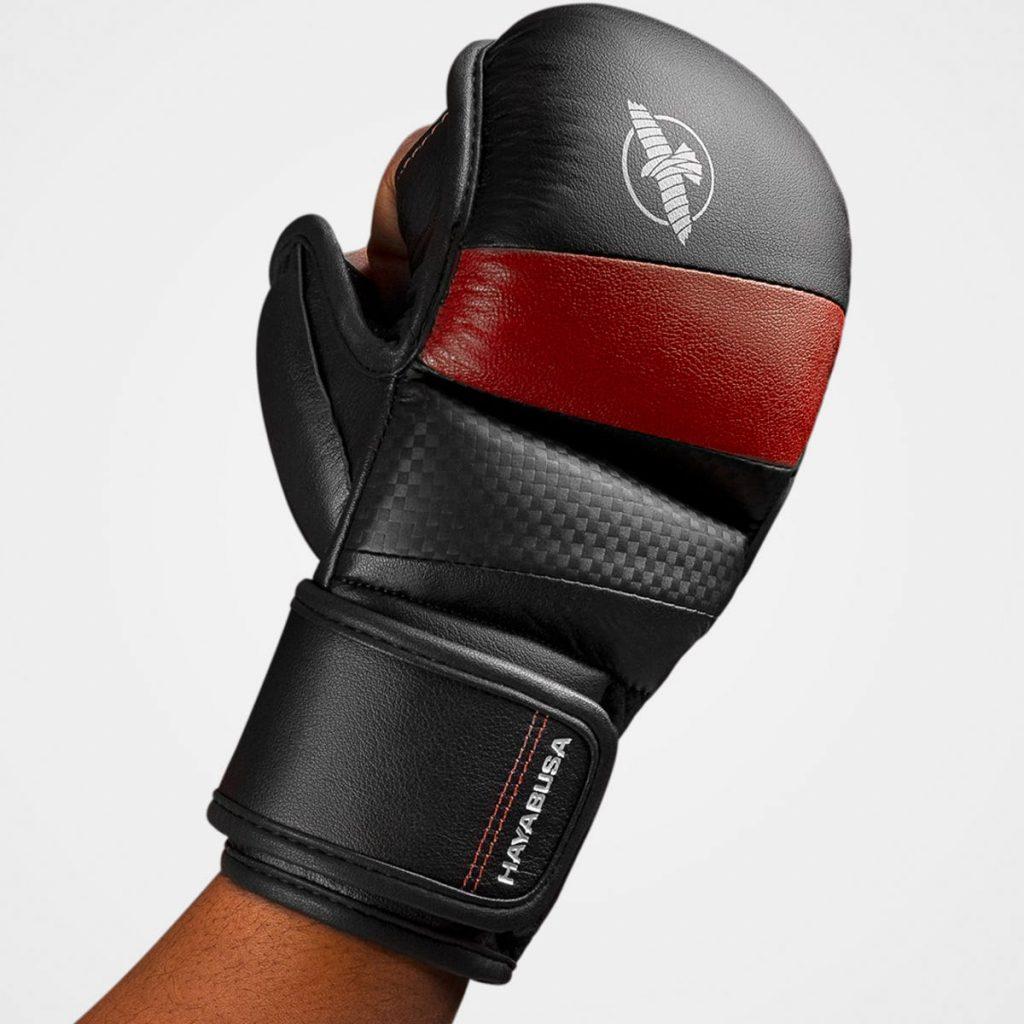 Red 7oz Hybrid Gloves